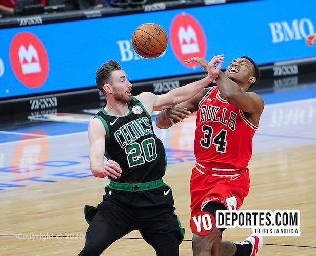 Celtics de Boston aplican segunda derrota del año a los Bulls en Chicago