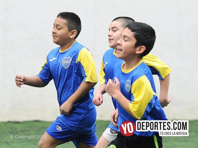 Boca Jrs deja caer diez goles sobre Celaya en la Douglas Kids