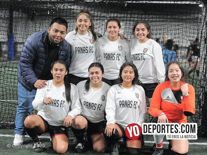 Las Panas FC blanquean a Villatoro en la liga de Chicago Futsal Academy