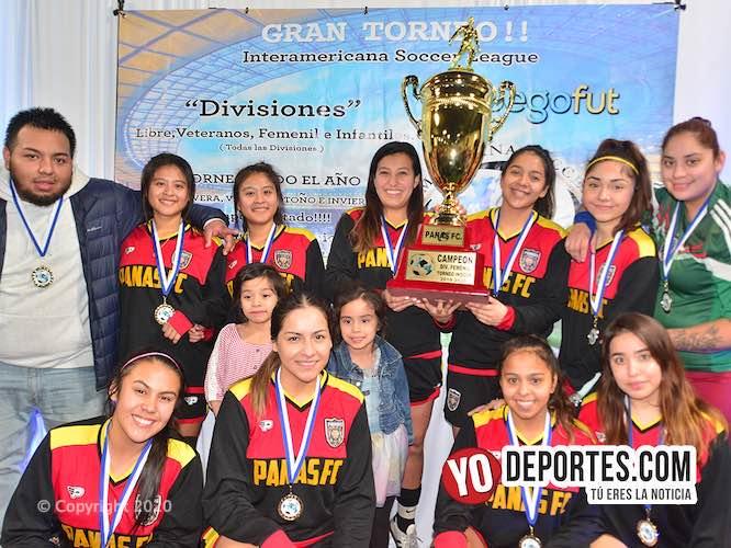 Panas FC campeonas del Futbol Femenil de Chicago