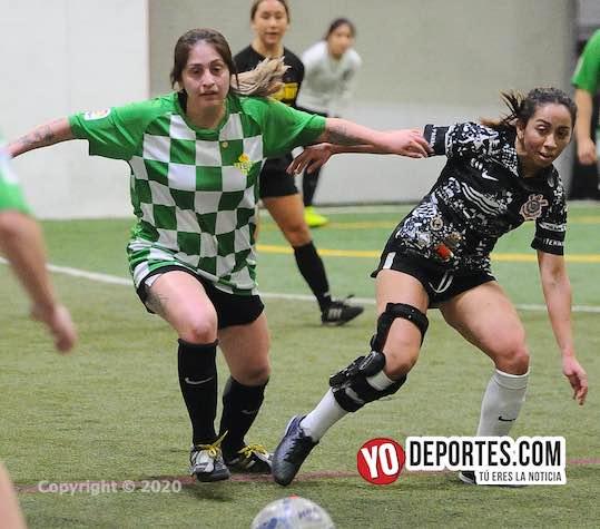 Universal contra Chicago Real FC final femenil de Copa en la 5 de Mayo