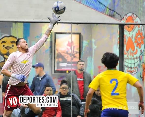 Pumas Floresta no pudo quitarle liderato a los Young Boys en la Liga 5 de Mayo