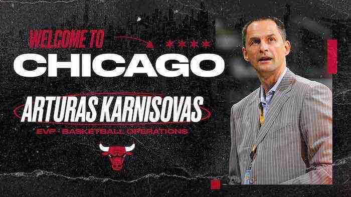 Arturas Karnisovas el encargado de resucitar a los Bulls de Chicago escribe carta a los fanáticos