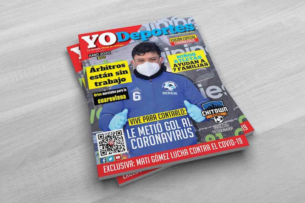 Ya llegó Yodeportes Magazine edición especial Coronavirus en Chicago