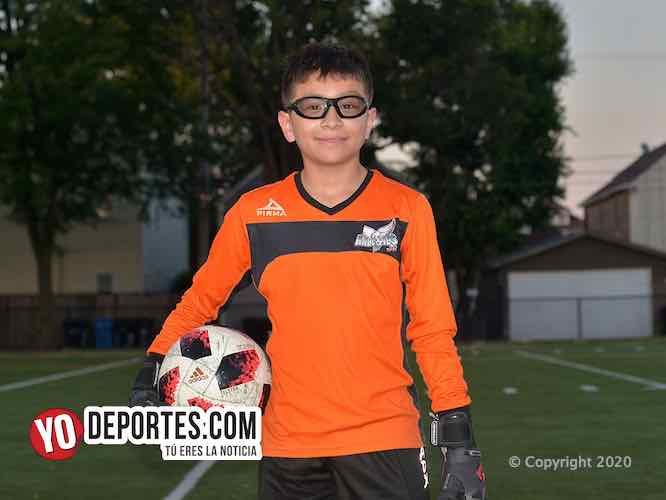 Alex Rodríguez ya está en Guadalajara representando a Chicago Goalkeeper Academy