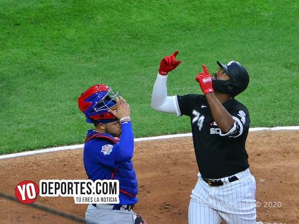 Eloy Jiménez dispara grand slam y hunde a Darvish y a los Cubs en exhibición