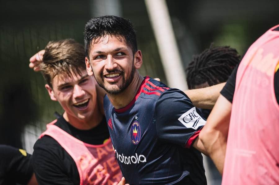Mauricio Pineda comienza a escribir su historia en la MLS con el Chicago Fire FC