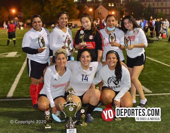 Rooferas las campeonas indiscutibles de la Kelly Soccer League