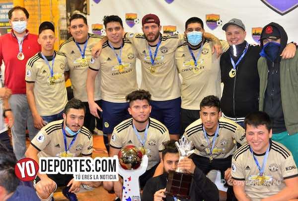 Los Borrachos salieron bien campeones de la Kelly Soccer League