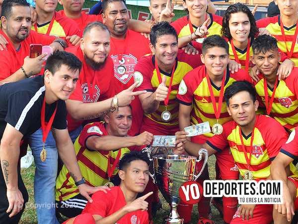 Otra vez, La Joya FC vence a El Rey pero esta vez en la final de la Victoria Ejidal
