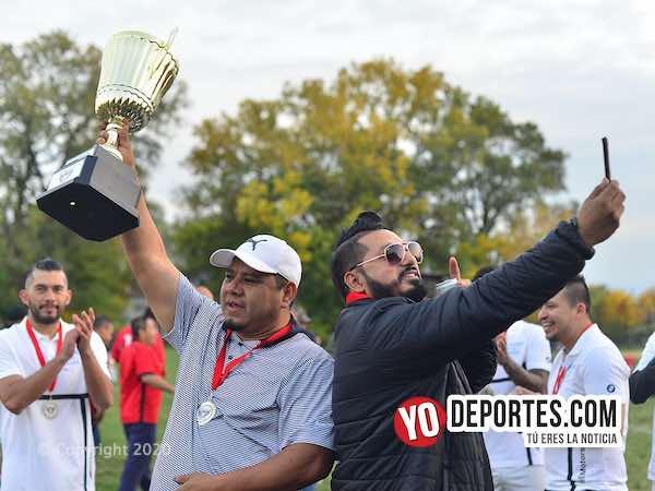 Ludoviko campeón de veteranos en la Victoria Ejidal al derrotar en penales a Hidalgo