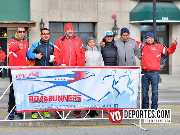 Este domingo se corre el Chicago Road Runners Maraton