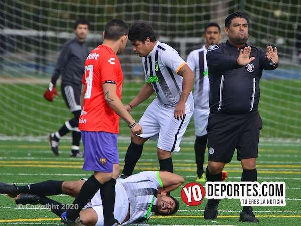 Hidalgo y Estrella Blanca se dieron con todo en la semifinal de la Douglas