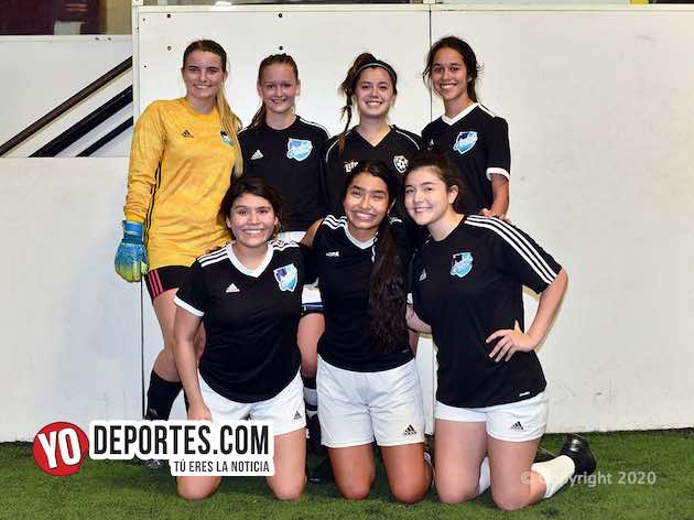 Gremio Black divide en doble jornada de la Kelly Soccer Femenil