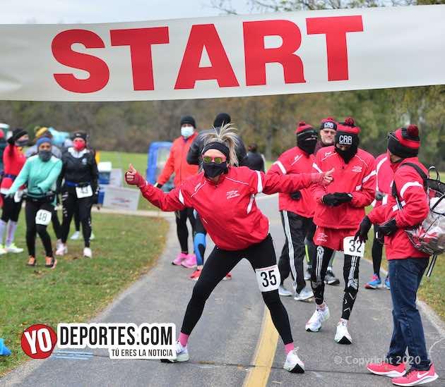 Chicago Road Runners hacen historia corriendo el único maratón en plena pandemia