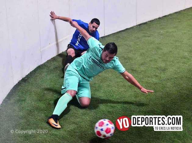 Iguala descargó artillería de goles sobre Peyote FC en veteranos de Chitown