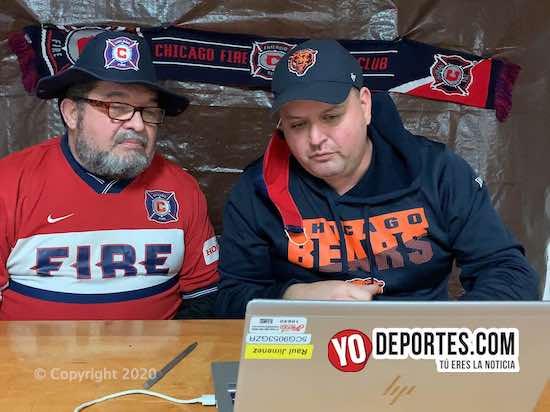 Javier Madriz y Raúl Jiménez rechazan la idea de cambiar otra vez logo de Chicago Fire