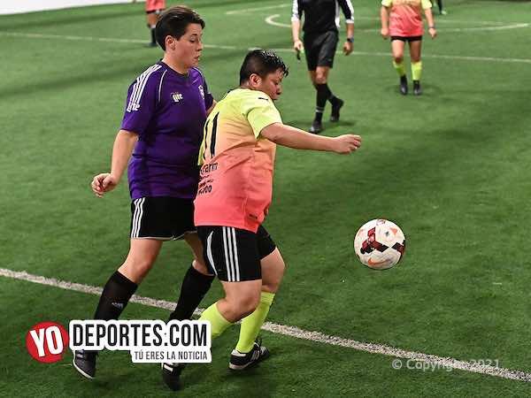 Combinado Azteca arrebata triunfo a Las Malinches en la Kelly Soccer League