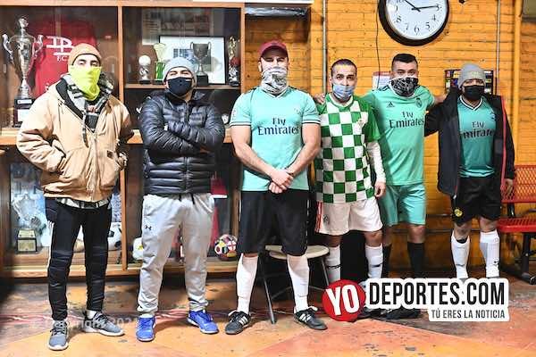 Triunfal regreso de TMT Rudos del Oro e Iguala en Chitown Futbol de veteranos