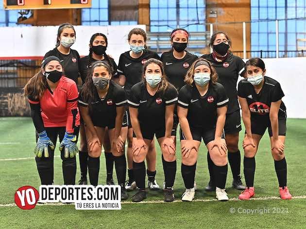 Elite 11 llega tumbando caña y golea a las Panteras en Kelly Soccer League