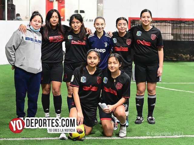FC United gana con 7 goles de Yolanda Escobedo en Kelly Soccer League