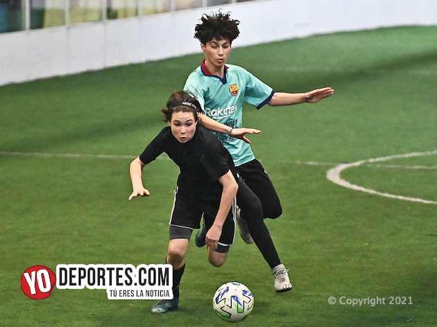 Rockford sepulta aspiraciones del Barcelona en la Kelly Soccer de los martes