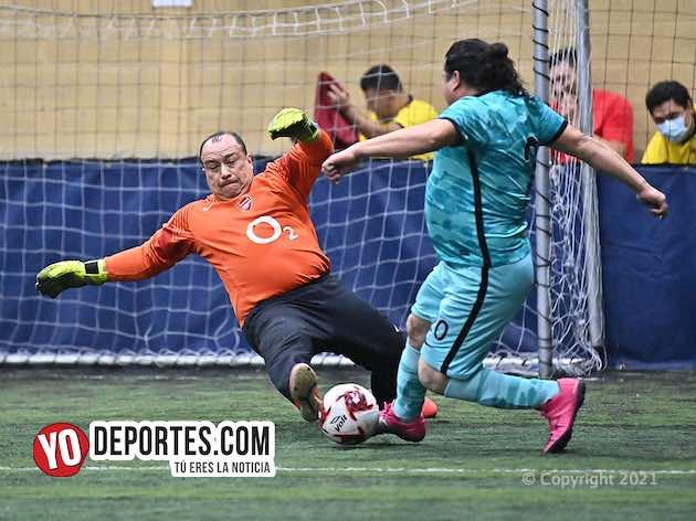 Saiyans vence al Deportivo Coral en la 40 Plus Soccer League