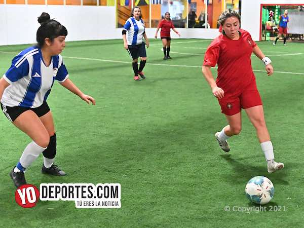 Ganó Zaragoza en la Kelly Soccer League Femenil