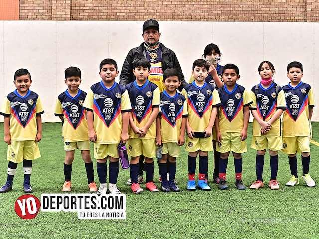 Ganaron las poderosas Águilas en la Liga Douglas Kids
