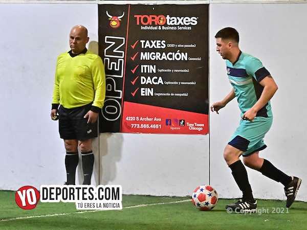 Iguala liga 12 triunfos en Torneo Toro Taxes de Chitown Veteranos