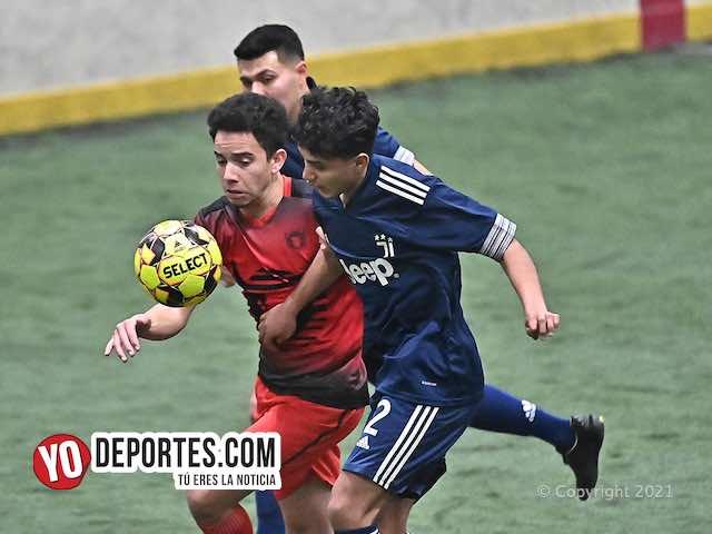 Jalisco FC tumba del primer lugar a Nexpa Jr. en la Champions de Waukegan