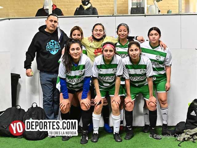 Las Laguneras hunden a las Tuzitas en la Kelly Soccer Femenil