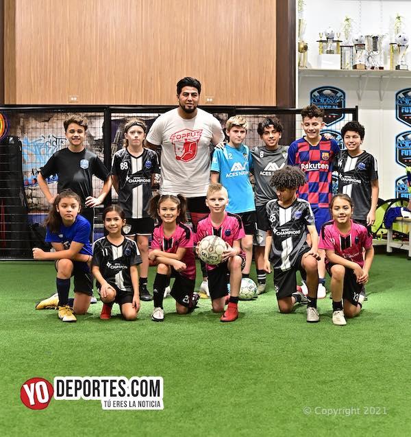 Mejora tu juego en TopFut Training Academy con Alex Paredes Cazares