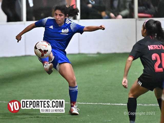 Imbatibles las Cicero Jaguars en la Kelly Soccer Femenil