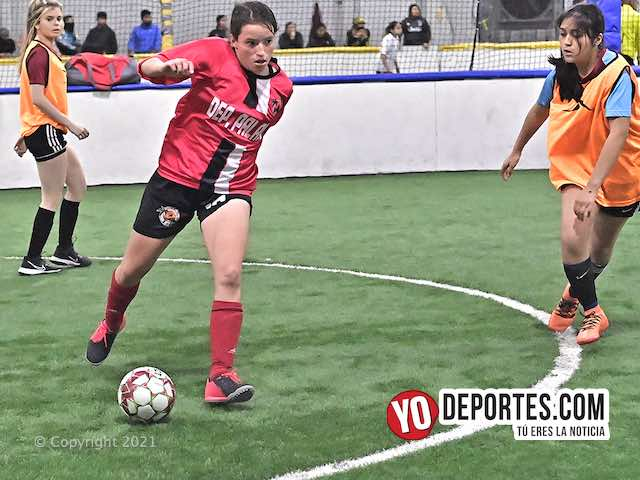 Warriors contra Azul Crema la final femenil en Municipal Soccer League de Melrose Park