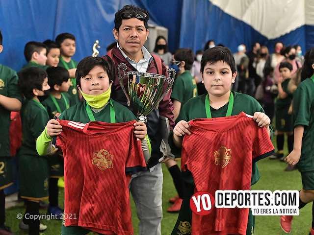 Ronaldo y Omar hacen campeones a los Dragones en la Douglas Kids