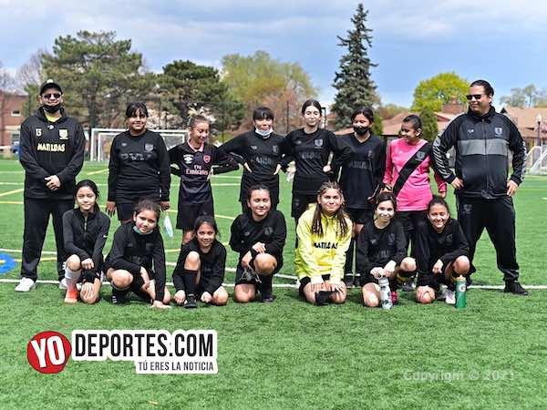 Las Matildas debutan en casa con doble triunfo en la liga traveling IWSL