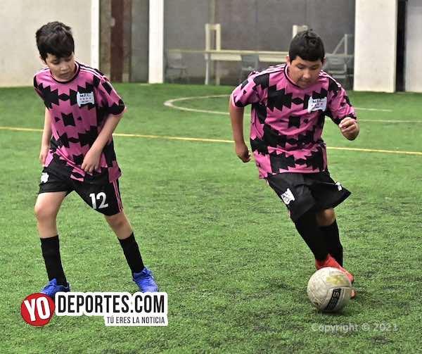 Morelos sufrió para eliminar a Real Tacuba en la Douglas Kids