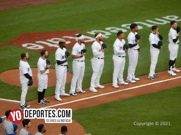Lluviosa y blanqueada completa de Lance Lynn y los White Sox en Opening Day