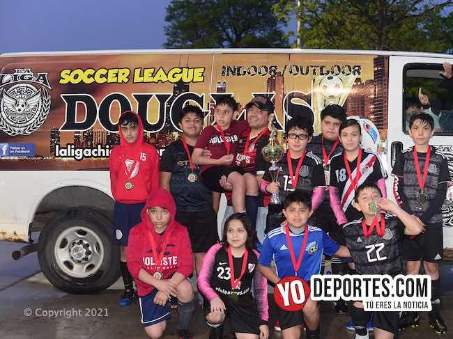 Combinado campeón de la Supercopa de los Martes en la Liga Douglas