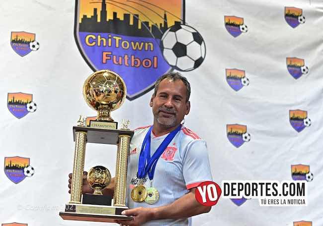 San Pancho campeón con agónico gol en final de veteranos en Chitown