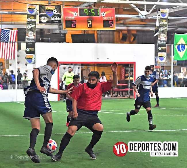 Silao avanza a la semifinal eliminando a Los Dragones de Chitown Futbol