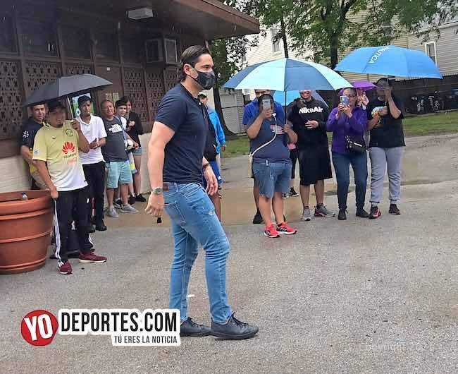 Moi Muñoz visita y recomienda la escuela de porteros Chicago Goalkeeper Academy