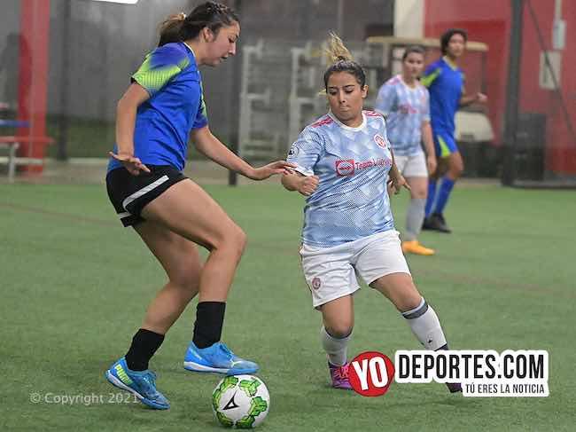 Independiente empiezan perdiendo y acaban ganando en AKD Femenil