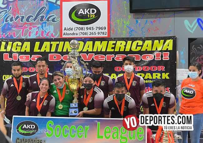 TFC y Pallets campeones absolutos de los miércoles en AKD League
