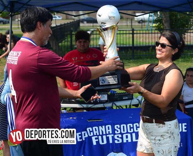 CD Vagos cumplió los pronósticos y es campeón femenil y veteranos en la Liga Interamericana