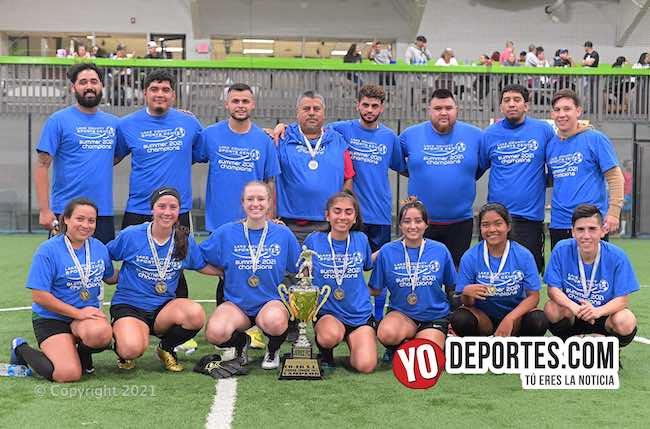 Jerez FC no sufre la final y es campeón de campeones mixto en Waukegan