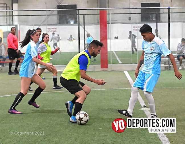 Iguala sigue mandando en futbol mixto de AKD League