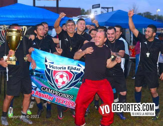 Bosque Real campeón y Deportivo Hidalgo el ya merito de la Victoria Ejidal