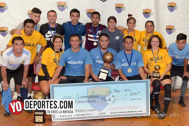 Iguala FC bicampeón en Chitown Friday Night League